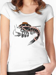 Prawn Women's Fitted Scoop T-Shirt