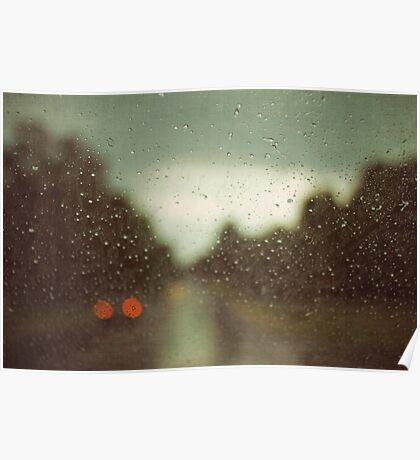 summer rain Poster