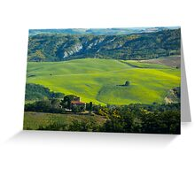 TOSCANA - ITALY Greeting Card