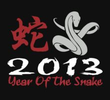 2013 Year of The Snake T-Shirt Baby Tee
