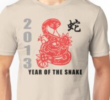 2013 Chinese New Year of The Snake T-Shirt Unisex T-Shirt