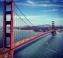 Golden Gate by Kaitlyn Mikayla