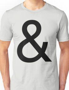 Ampersand (Helvetica) Unisex T-Shirt