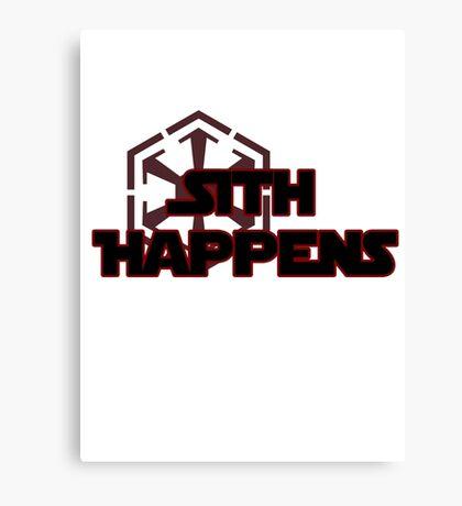 Sith Happens Canvas Print