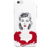 Burgundy or Scarlett iPhone Case/Skin