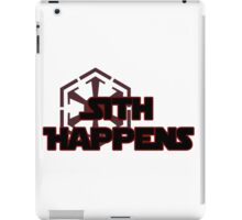 Sith Happens iPad Case/Skin