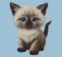 Cataclysm- Siamese Kitten Classic Baby Tee