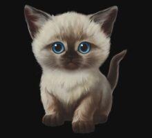 Cataclysm- Siamese Kitten Classic One Piece - Short Sleeve