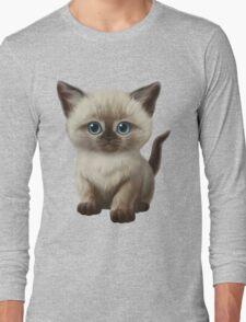 Cataclysm- Siamese Kitten Classic Long Sleeve T-Shirt