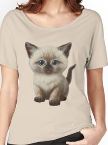 Cataclysm- Siamese Kitten Classic Women's Relaxed Fit T-Shirt