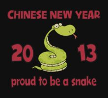 Proud To Be A Snake 2013 T-Shirt One Piece - Long Sleeve