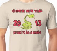 Proud To Be A Snake 2013 T-Shirt Unisex T-Shirt