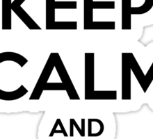 Keep Calm and 42 Sticker
