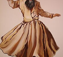 The Remembrance of Allah - A Sufi Whirling Dervish by taiche