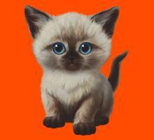 Cataclysm: Siamese Kitten Paws Kids Tee