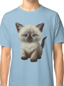 Cataclysm: Siamese Kitten Paws Classic T-Shirt