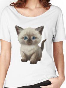 Cataclysm: Siamese Kitten Paws Women's Relaxed Fit T-Shirt