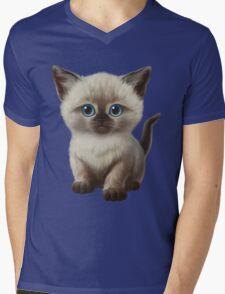 Cataclysm: Siamese Kitten Paws Mens V-Neck T-Shirt