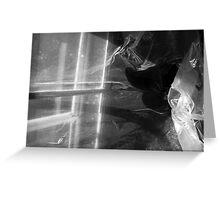 attic shadows Greeting Card