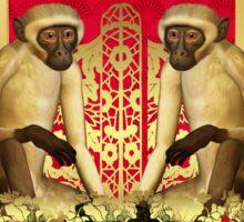 Chinese New Year, Year Of The Monkey, Stylish Design 2016 Sticker