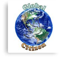 Global Citizen Peace Dove Canvas Print
