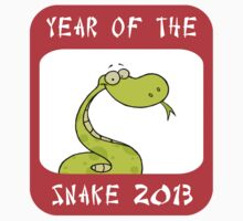 Funny Year of The Snake 2013 T-Shirt by ChineseZodiac