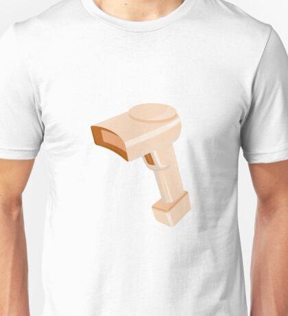 barcode scanner reader retro Unisex T-Shirt