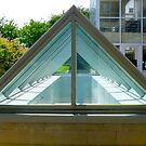 Triangle Glass by Jonathan  Green
