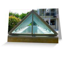 Triangle Glass Greeting Card