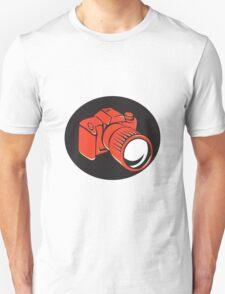 DSLR digital camera front retro T-Shirt