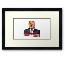 """Mao """"Donald Trump"""" Zedong Framed Print"""