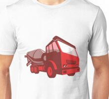 cement truck lorry retro style  Unisex T-Shirt