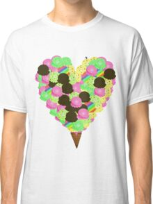 ice cream lover Classic T-Shirt