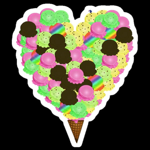 ice cream lover by kipari