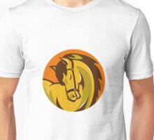 horse stallion head retro Unisex T-Shirt