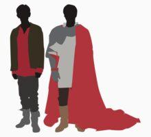 Merlin & Arthur by jamiesugah