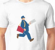 mailman postal worker delivery man Unisex T-Shirt
