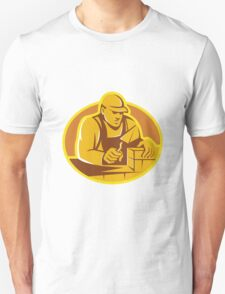 mason brick layer construction worker Unisex T-Shirt