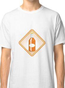 orange soda bottle sunburst retro Classic T-Shirt