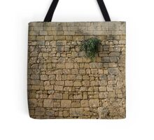 Life on Bare Rock - Up High on the Fortification Wall Tote Bag
