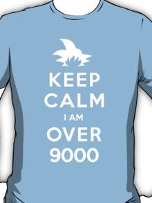 Keep Calm I am Over 9000 T-Shirt