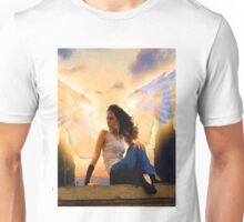 Angel on the roof Unisex T-Shirt