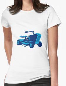 vintage ride on lawn mower retro T-Shirt