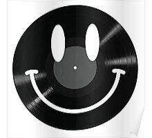 Vinyl Smiley Poster