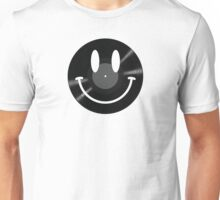 Vinyl Smiley Unisex T-Shirt