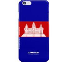 Cambodia, Represent iPhone Case/Skin