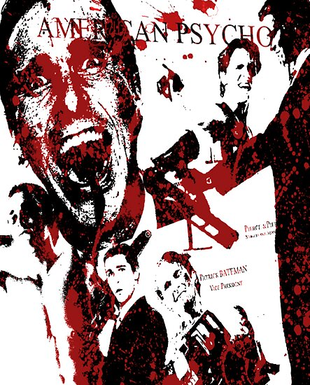 American Psycho, Patrick Bateman 'Collage' effect by smirkingjim