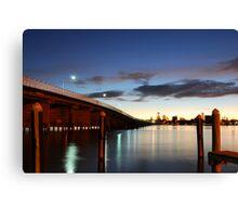 Forster Bridge Canvas Print