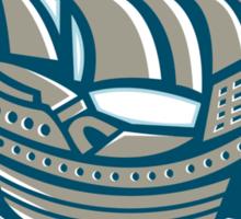sailing ship galleon scroll Sticker