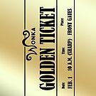 Wonka Golden Ticket by blueking